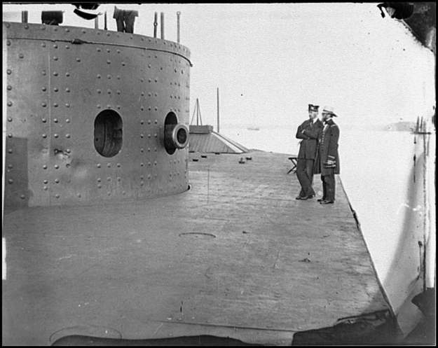 USS Monitor, CSS Merrimack, Battle of Hampton Roads 1862, American Civil War
