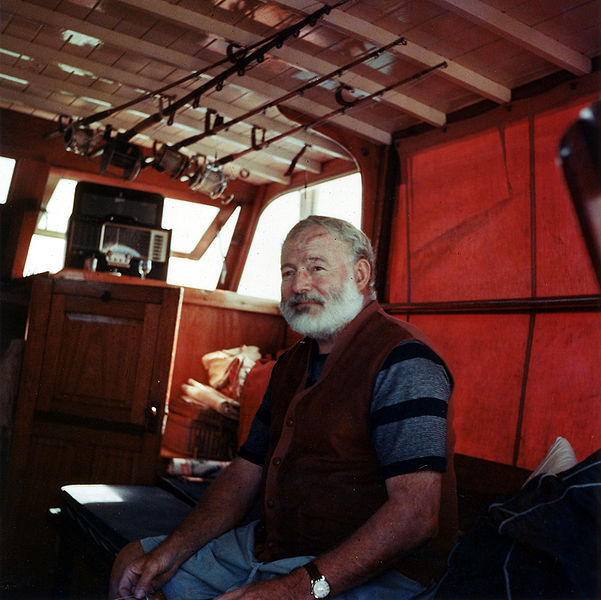 Photo from Ernest Hemingway Commits Suicide - Timelines.com